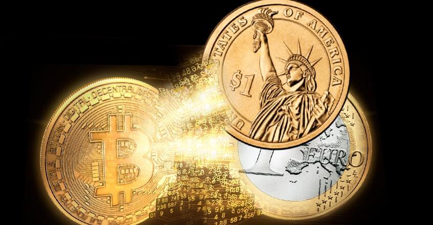 هل ترغب في تمويل حسابات الدولار، واليورو باستخدام البتكوين؟ بسيطة!